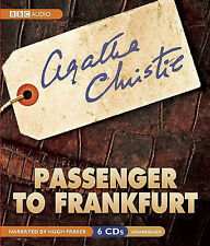 ~Passenger to Frankfurt by Agatha Christie (CD-Audio, 2010) - 6 CD's - VGC~