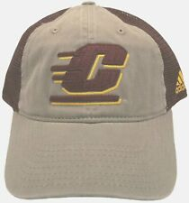 0e79beee088 CMU Hat Central Michigan University Chippewas Mesh Cap adidas With Tags