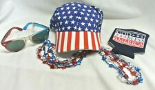 "4th Of July ""God Bless America"" Celebration Ready Accessories Bundle 6 Pcs"