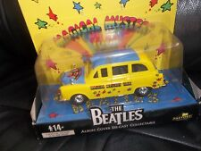 THE BEATLES DIECAST MODEL TAXI CAB (LIKE CORGI)  MAGICAL MYSTERY TOUR. 5 INCHES