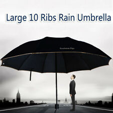 Three-foldings Umbrella Windproof Wind Resistant Compact W/10 Fiberglass