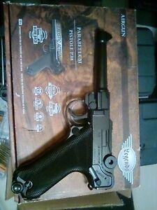 Legends Pistol P.08 Parabellum Blow Back .177 Caliber CO2 Air Pistol WW2 Replica