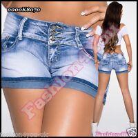 Jeans Shorts Sexy Women's Ladies Hot Denim Summer Pants Size 6,8,10,12,14 UK