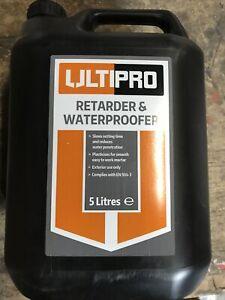 ULTIPRO RETARDER & WATERPROOFER 5 Litres £14 Delivered