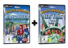 2 x Wimmelbildspiele - Big City Adventure: Vancouver + New York City für PC