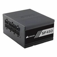 NEW! Corsair 450W High Performance Sfx Sf450 Psu Rifle Bearing Fan Fully Modular