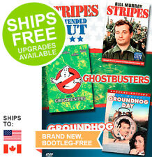 Ghostbusters / Stripes Extended Cut / Groundhog Day (DVD, 2006) NEW, Bill Murray