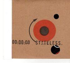 (FT733) Stateless, Down Here - 2004 DJ CD