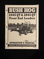 Bush Hog 2445 Qt & 2845 Qt Front End Loader Operator's Manual *1275,1276