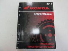 2014 Honda TRX420FA1/FA2 TRX420TM1/TE1/FM1/FM2/FE1 Service Manual WORN FACTORY