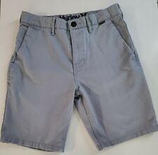Hurley Men's  Light Gray Chino Shorts Size 29 L@@K NEW