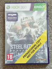 Microsoft Xbox 360 Game Steel Battalion Heavy Armor New Sealed Promo Version