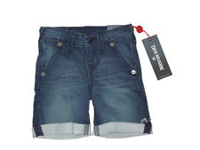 True Religion boys Geno rolled cuff denim jean Shorts size 2T outfit retail $79