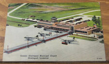c1940 Postcard/ Greater Shreveport Municipal Airport, Louisiana