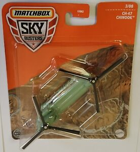 Matchbox Sky Busters CH-47 Chinook 3/08