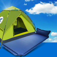 Outdoor Camping Friend Automatic PopUp Tent with Single AirSleeping Pad Mattress