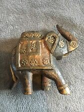 Anglo Indian wooden elephant