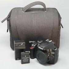 Nikon D3200 24.2 MP Digital SLR Camera - Black (Body Only) - 2K Clicks