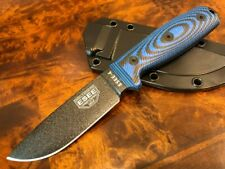 ESEE Knives ESEE 4 Black Blade Blue/Black G10 3D Handle 4PB-008