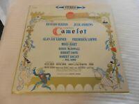 Camelot Broadway Cast LP Album Columbia #KOS2031 Julie Andrews, Richard Burton