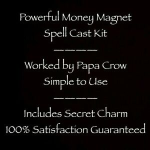 Powerful Money Magnet Prayer Charm Kit Lotto Work Income Luck Rich Life Blessing