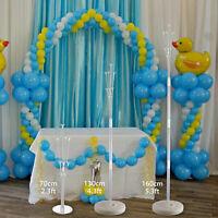 Balloons Column Stand Display Set Base Tube Birthday Wedding Party Decoration US
