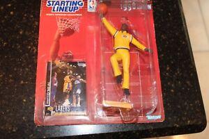 1998 Starting Lineup Shaquille O'Neal Shaq Los Angeles Lakers NIB NBA SLU