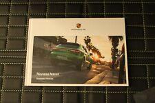 RAR! Hardcover Prospekt/brochure Porsche Der neue Macan Turbo, S 08/19 franz.
