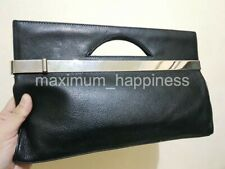 SALE - MARC JACOBS LEATHER LONG CLUTCH WITH CUT OUT HANDLES - AUTHENTIC