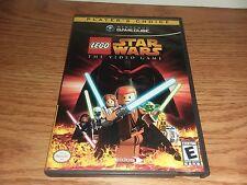 NINTENDO STAR WARS VINTAGE VIDEO GAME COMPLETE LEGO CIB GAMECUBE RARE