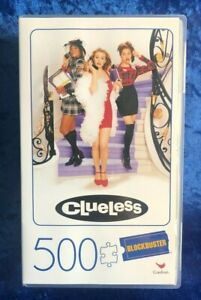 Blockbuster 500 Piece Movie Jigsaw Puzzle Clueless Brand New Unopened (A)