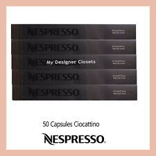 50 Capsules Nespresso Coffee Chocolate Ciocattino Pods