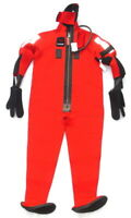 NOS FITZWRIGHT IMMERSION DIVING SUIT MODEL 9700 SOLAS USCG APPROVED ADULT SIZE