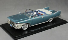 Neo Models Plymouth Fury Convertible in Blue & White 2 tone 1960 44693 1/43 NEW