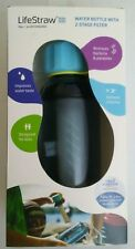 LifeStraw Play Kids Water Filter Bottle w/ 2-Stage Integrated Filter Straw #1D