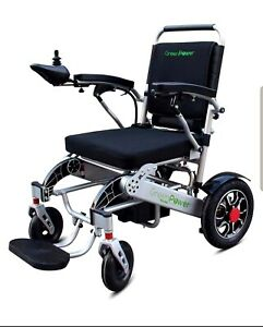 New Electric Portable Wheelchair 500W LITHIUM Battery FREE Delivery Green Power