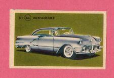 Oldsmobile Vintage 1950s Car Collector Card from Sweden