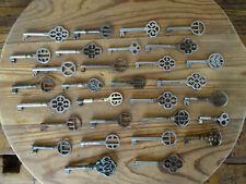 V7779 Konvolut ~ 30 alte Schlüssel ~ Schrankschlüssel ~ Kommodenschlüssel