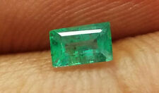 0.30 Ct Natural Baguette Shape Top Zambia Emerald Loose Gemstone Genuine Loose