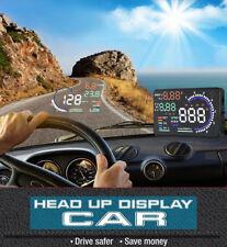Auto OBD Head Up-Display HUD Projektor Tachometer Geschwindigkeit Warning Sicher