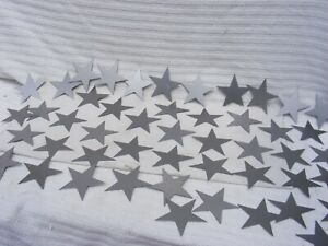 50 METAL STARS MILD STEEL STARS WEDDING CHRISTMAS OCCASIONS #178