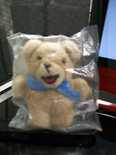 SNUGGLE BEAR BLUE RIBBON STILL IN PLASTIC RUSS BERRIE NO. 259 TEDDY PD503 NEW