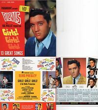 CD Elvis PRESLEY Girls! Girls! Girls! (1962)  Mini LP REPLICA  13-tr Calendar EX