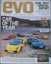 EVO magazine January 2006 Car of the Year 2005 Edition