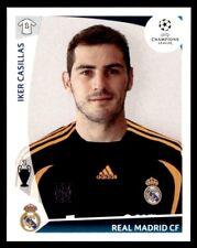 Panini Champions League 2009-2010 Iker Casillas Real Madrid CF No. 159