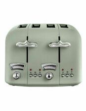 Delonghi CTO4GR Argento Flora Green Slice Toaster