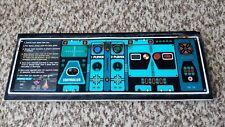 Nintendo Radarscope original arcade control panel populated joystick buttons