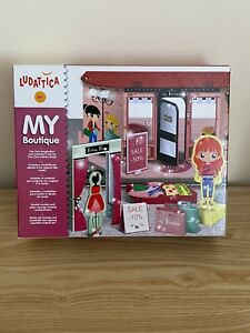 My Boutique Wood Magnet Fashion Dress Up Doll Age 4+ Years Pretend Play Set