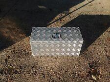 Large Aluminium Chequer plate Storage/Tool Box Lockable lid trucks,trailers