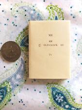 An Old Clock JEN Press J Ed Newman Signed Limited Ed. Miniature Book & DJ #48/50